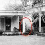 The Myrtles Plantation with a shadowy figure circled
