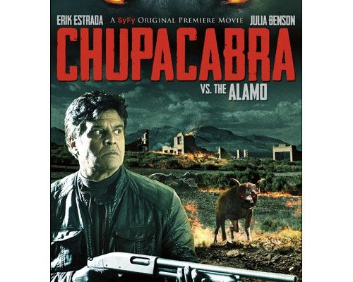 There is even a chupacabra movie!