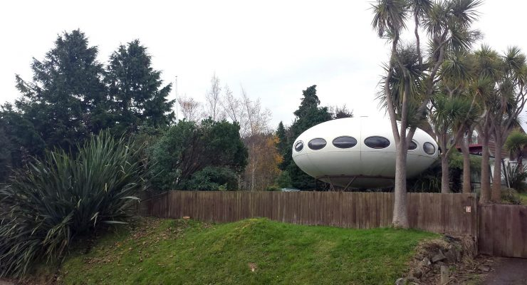 Futuro UFO home can be yours for a price