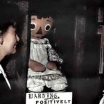 Ed and Lorraine Warren with Annabelle the doll