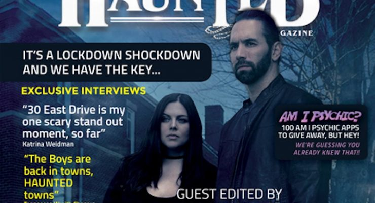 Haunted magazine issue guest-edited by Nick Groff becomes most popular ever