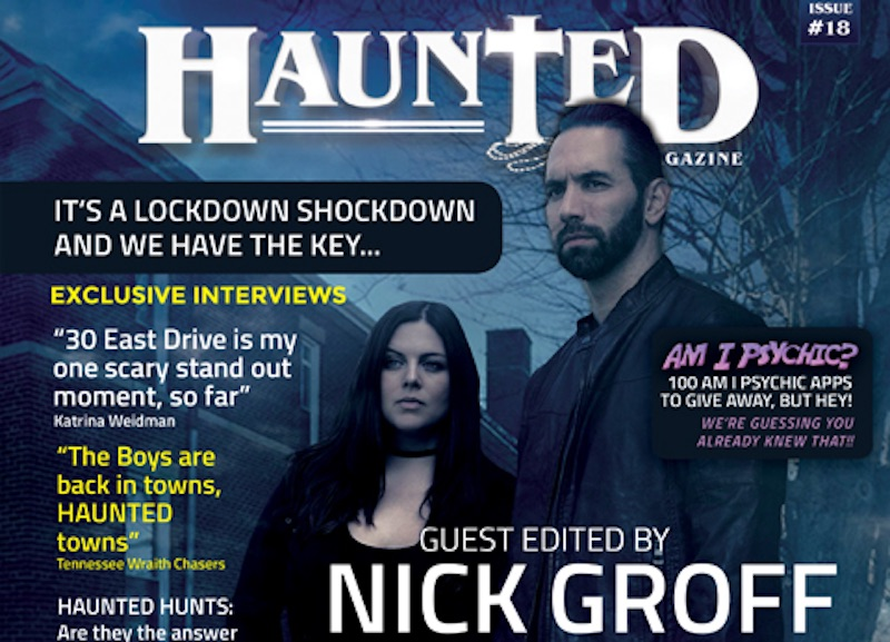 Haunted magazine guest-edited by Nick Groff