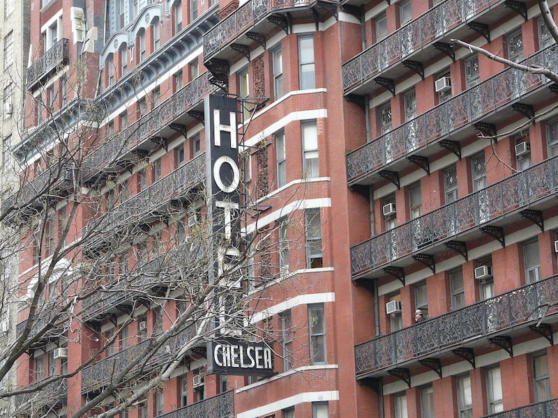 Hotel Chelsea in New York