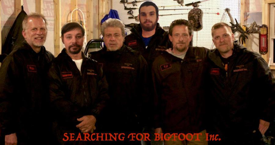 Searching for Bigfoot team