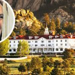 The Stanley Hotel and Jack Nicholson in The Shining