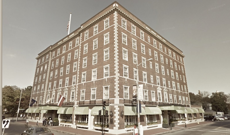The Hawthorne Hotel in Salem, Massachusetts