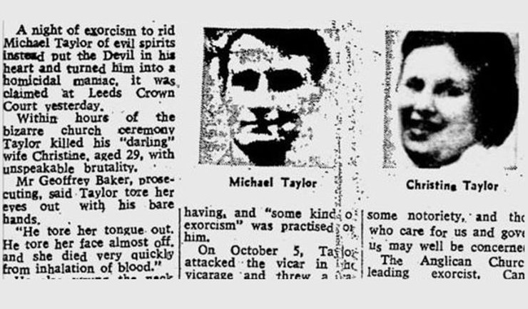 Michael Taylor newspaper story