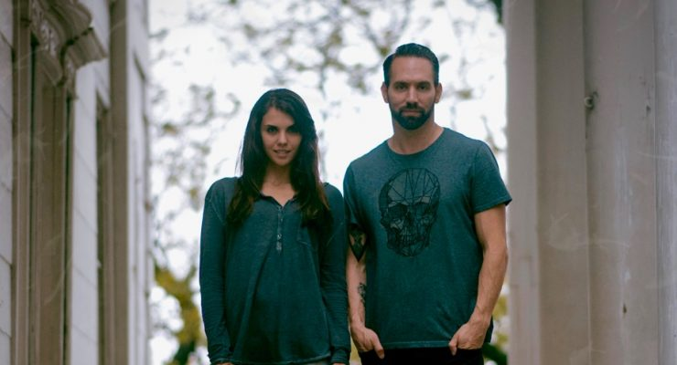 Nick Groff and Elizabeth Saint trailer new live paranormal channel TheHaunted.Space