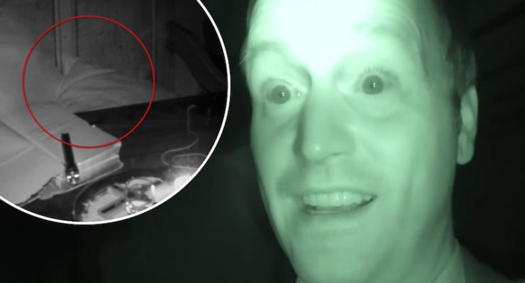 Startling footage captures 'ghost' moving cushion and bible inside historic pub