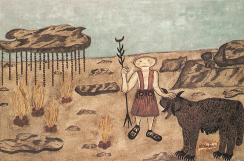 Hélène Smith drawing of Mars