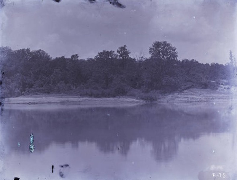 Historic photo of the Tombigbee River