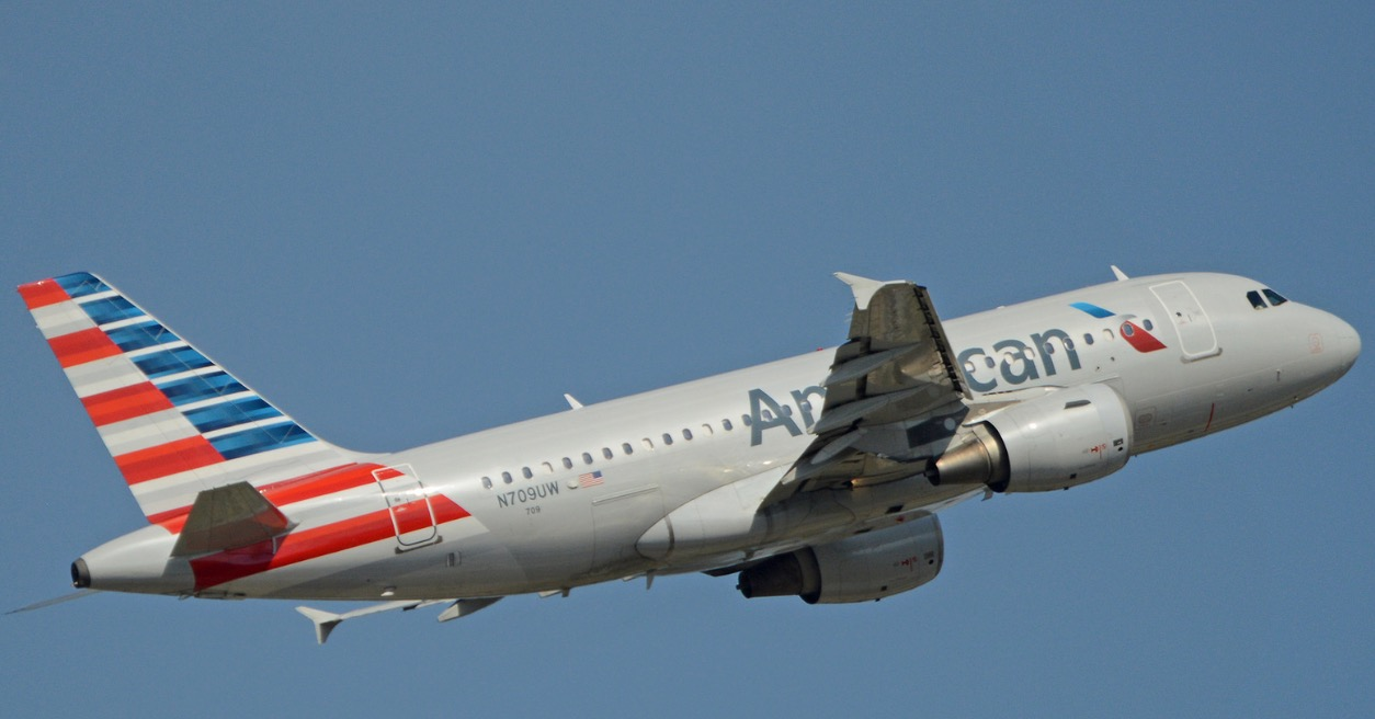 American Airlines UFO