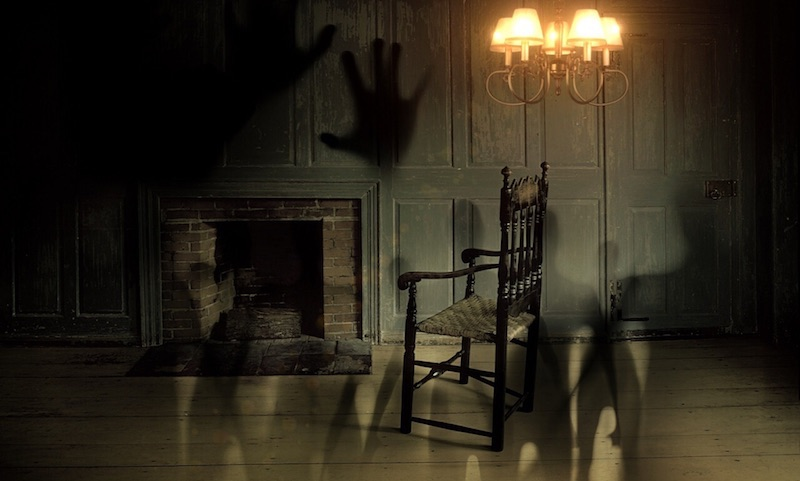Furniture in haunted house