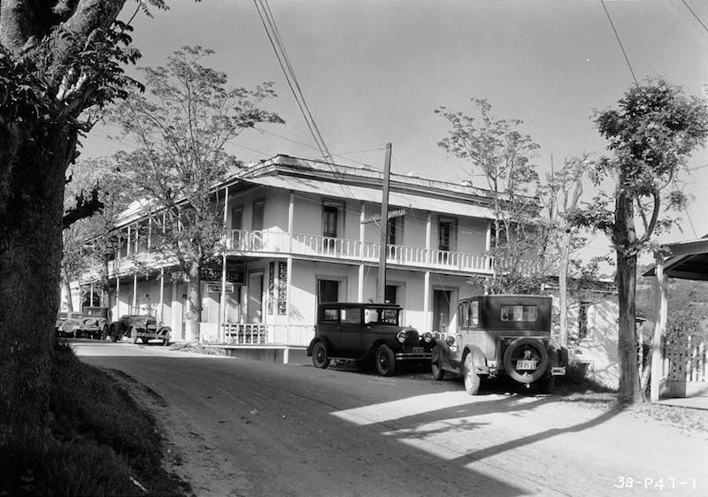 Historic photo of Hotel Leger