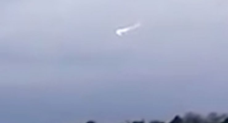 Is this video captured by a teen near RAF base in England a UFO?