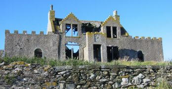 Mystery fire at Shetland Islands' 'most haunted' Windhouse